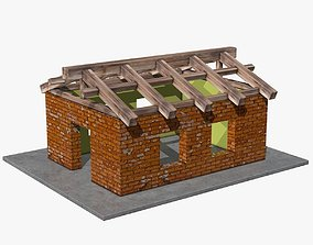 3D asset House under Construction