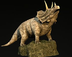 beast 3D model Triceratops