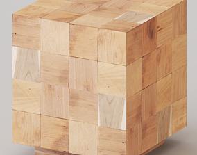 planks Uniqwa - Makoro Coffee Table 3D