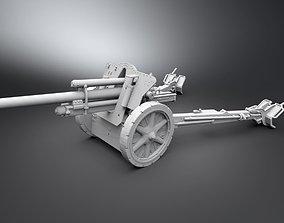 105mm leFH 18 Scale model military