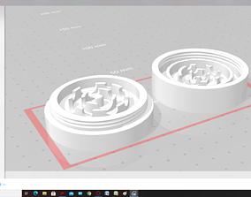 bud grinder 3D printable model