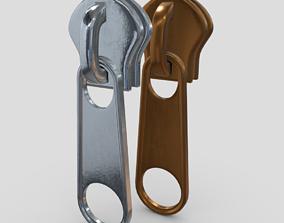 3D asset Zipper Slider