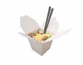 delivery Noodle Box 3D
