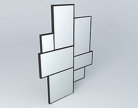 AXEL mirror houses the world 3D