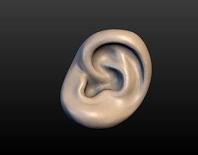 Round Ear 3D printable model