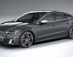 3D model Audi S7 Sportback 2020