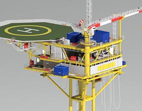 3D minimum facility platform