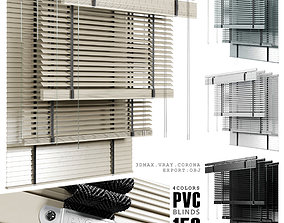 pvc blinds 150 cm 3D asset