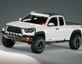 off 3D model Toyota Tacoma 2018 Off Road Modified