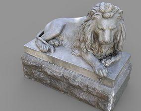 3D model Sutro Heights Lion