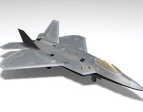 F-22 A Raptor 3D asset