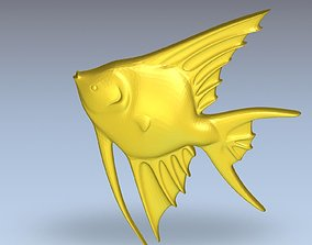 aquarium 3D Model of Fish Angelfish