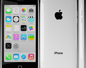 Apple iPhone 5c White 3D