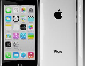Apple iPhone 5c White 3D