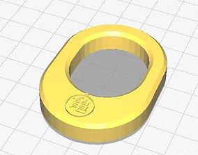 3D printable model Simple napkin ring with Dragon Ball