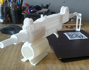uzi for Ps4 VR aim controller 3D print model