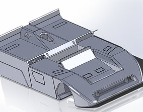 3D print model Kit Chaparral 2J Can Am slot car
