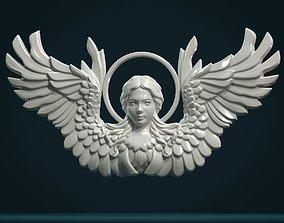 Angel Relief 3D print model