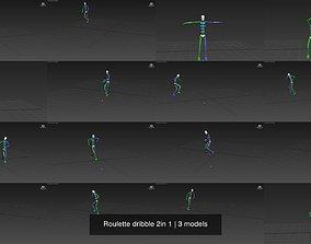 3D model Roulette dribble 2in 1