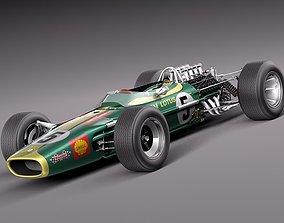 3D model Lotus 49 1967-1970