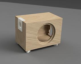 Active Subwoofer box 3D