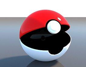3D Pokeball ash