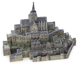 Toy Castle 3D Puzzle - Mont-Saint-Michel