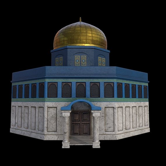 "Mosque Design for project ""Muslim Toys"""
