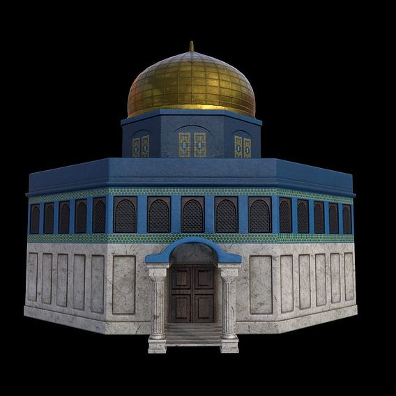 """Mosque Design for project """"Muslim Toys"""""""