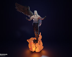 3D printable model Sephiroth FF7 Remake Shirtless