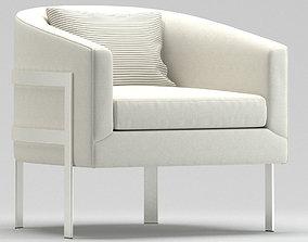 Mitchell Gold Bob Williams Avery Chair 3D model