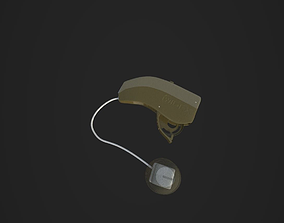 3D model Hearing aid