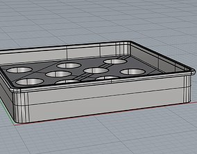 Cake molds silicone 3D printable model