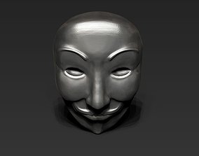 3D model Anonymous Mask