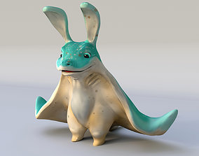 game-ready Stingray Fish Animal 3D model