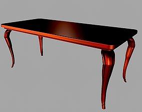 dining 3D model Dinning table 12