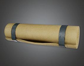 Military Barracks Bed Roll - MLT - PBR Game 3D model