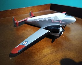RCAF Beech 18 Expeditor 3D printable model