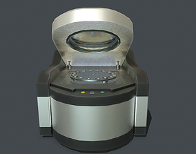 Desktop XRF spectrometer PBR 3D model