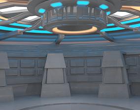 3D asset Sci Fi Room