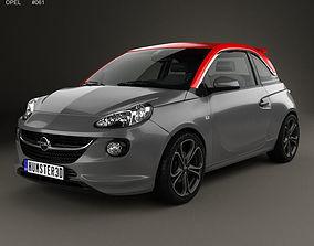 Opel Adam S 2014 3D model