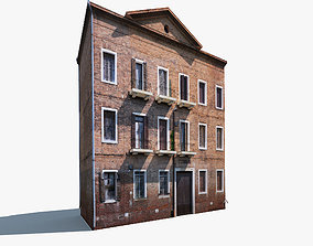 Apartment House 140 Low poly 3D model