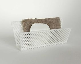 007f - Sponge Holder - Angular pattern 3D printable model