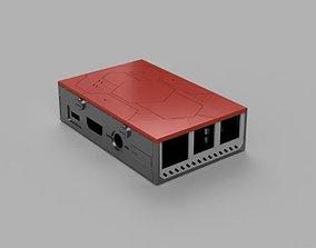Raspberry model 3 B Sci Fi Case