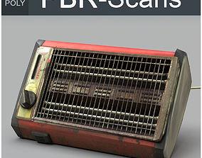 Heater Low Poly 3D asset