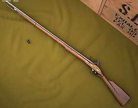 3D model Brown Bess Land Pattern Musket