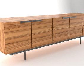 Pastoe Frame Style Sideboard Buffet 3D model