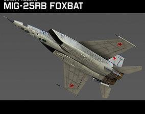 3D Mig 25RB Foxbat B