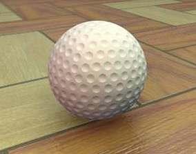 Golf Ball ball 3D model