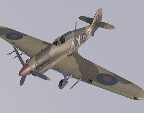 3D Hawker Hurricane MkIIC Trop